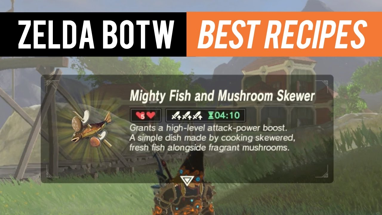Zelda botw best recipes dem boyz gaming youtube zelda botw best recipes dem boyz gaming forumfinder Images