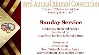 Day 2.1 Sunday Service