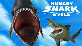 New Baby Pet Shark Megalodon Kraken Giant Turtle Unlocked  | Hungry Shark World