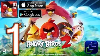 ANGRY BIRDS 2 Android iOS Walkthrough - Gameplay Part 1 - Cobalt Plateaus: Feather Hills: Stages 1-8