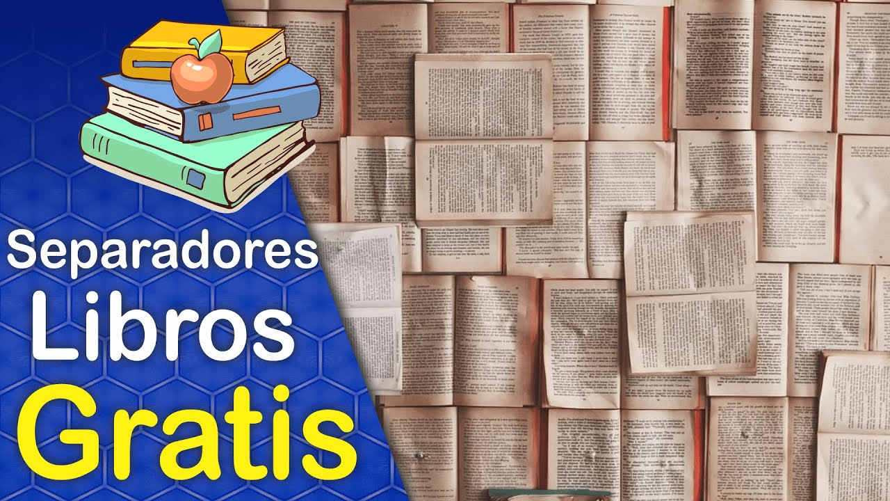 Diseños De Separadores De Libro (Señalización De Lectura