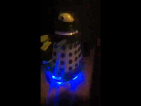 Dalek Projector Alarm Clock Youtube