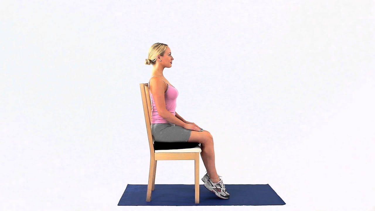 Inflatable Seat Cushion >> How to use an ischial bursitis cushion - YouTube