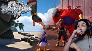 Kingdom Heart III - Big Hero 6 Trailer Reaction!