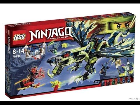 Конструктор атака дракона морро ninjago 70736 – предназначен для мальчиков от 8 до 14 лет. Это увлекательная игра, которая позволит развить фантазию, усидчивость и внимательность ребенка. Огнедышащий дракон создан в оригинальном дизайне: в зеленом, черном и синем цвете с подвижными.