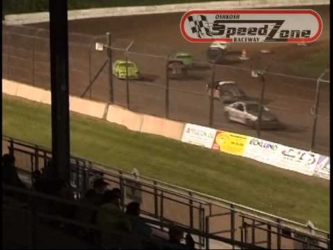 Oshkosh Speedzone Raceway - June 6, 2013 - Dirt Devil Feature