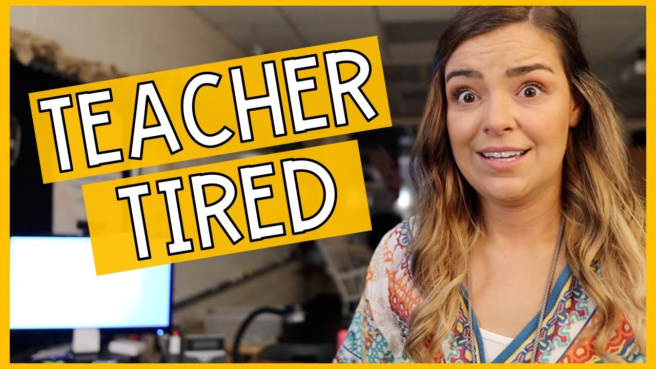 FEELING TEACHER TIRED | Week 3 In My Teacher Life!