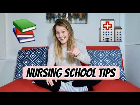 Pre-Nursing And Nursing School Tips!