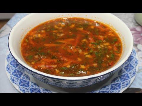 Суп с копчеными колбасками, картофельнй