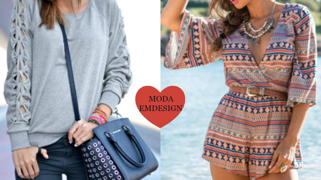 Moda 2016 ropa de moda primavera verano para mujer romwe - Moda de este verano ...