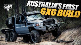 Australia's Original 6x6 LC79 Landcruiser  The MEGATOURER™