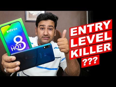 Infinix Hot 8 Lite Unboxing, Hands on/Review - Only In Rs. 12,999 🔥🔥🔥