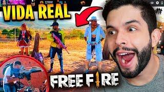 NOVO MAPA?! LANÇOU FREE FIRE DA VIDA REAL E FICOU PERFEITO!!