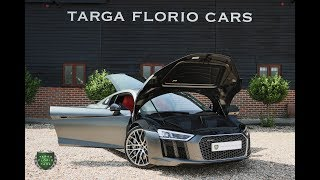 Audi R8 V10 Plus Quattro 5.2L FSI 610PS S Tronic Automatic in Audi Exclusive Grey Matt Effect
