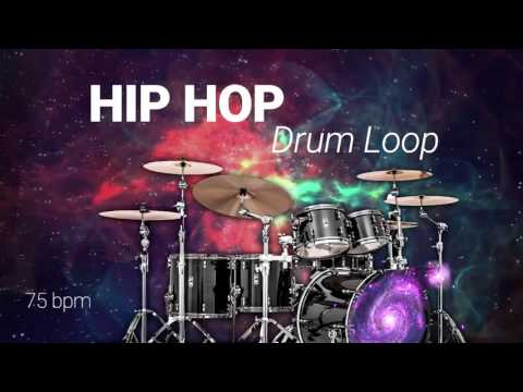 Free HIP HOP DRUM LOOP 75 bpm