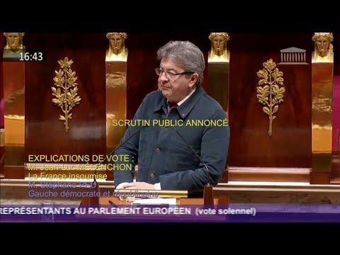 « IL FAUT SORTIR DES TRAITÉS EUROPÉENS » - Mélenchon
