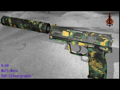 USP - S Overgrowth - Skin Wear Preview