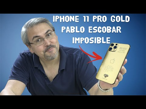 IPhone 11 Pro GOLD Pablo Escobar A $499 Dólares - IMPOSIBLE Explicado