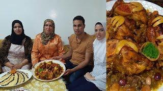 الدجاج البلدي المحمر أسرار النجاح بحضور عروستي
