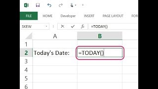 Excel Magic Trick : Date Calculation