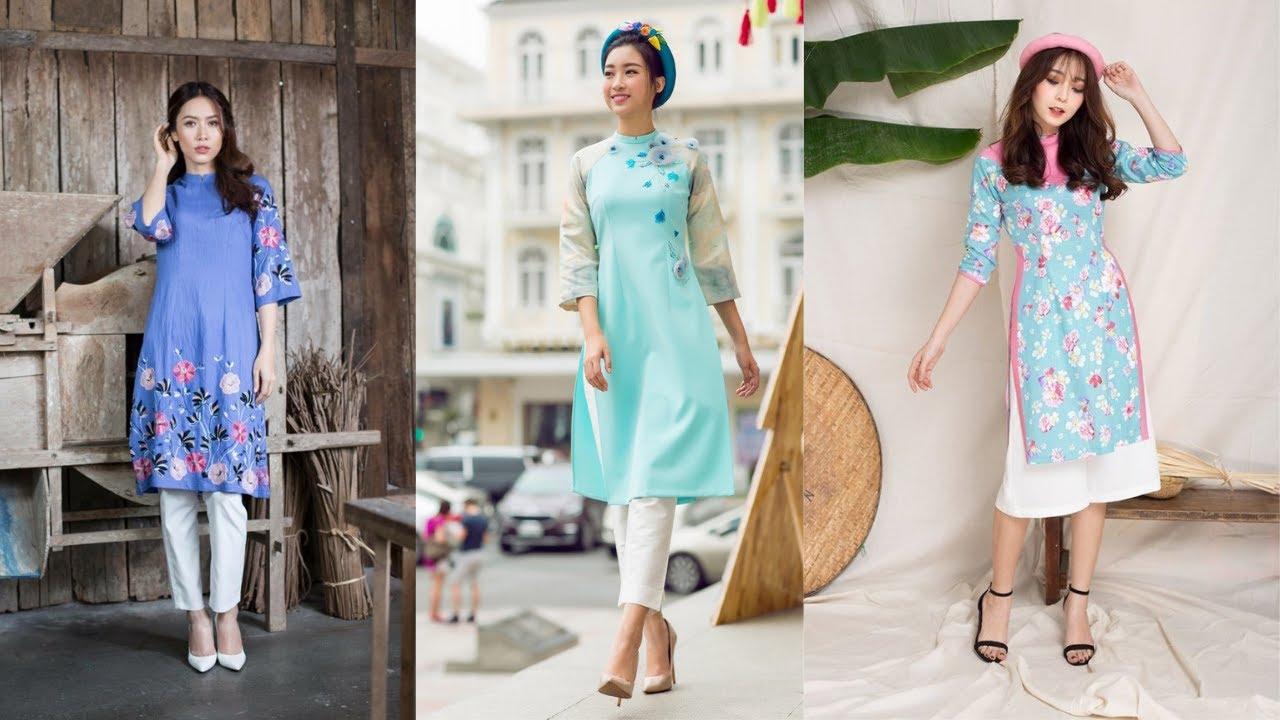 Áo dài cách tân nữ, thiết kế Mới Nhất năm 2019