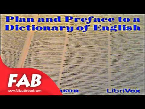 Plan and Preface to a Dictionary of English Full Audiobook by Samuel JOHNSON
