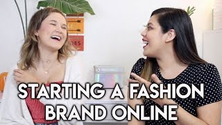 HOW TO START A CLOTHING BRAND ONLINE AT 18! ft. Allison Villines