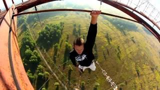 Ruso vence el miedo en las alturas..