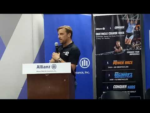 Allianz Conquer Challenge Media Launch Part 1