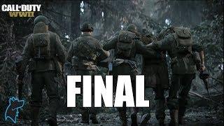 CALL OF DUTY WW2 - FINAL Gameplay Español PS4 | Campaña Parte #11 [1080p]