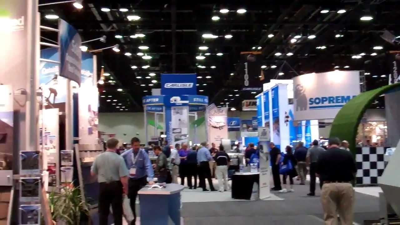 Ire International Roofing Expo In Orlando Florida Youtube