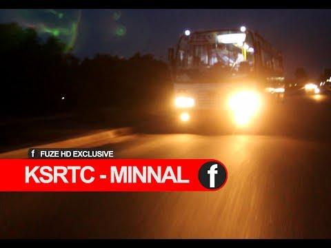 KSRTC Minnal   Super Air Delux   High Speed Bus   Fuze HD
