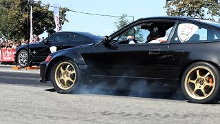 Honda CRX Turbo vs Ford Mustang Shelby