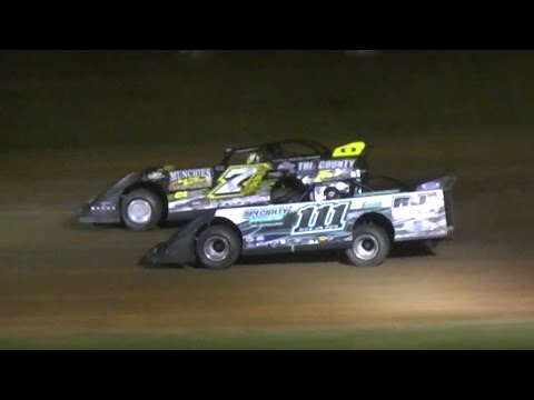 Crate Late Model Feature | McKean County Raceway | 6-9-16