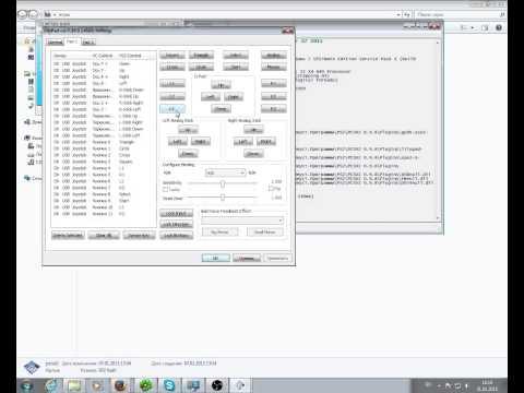 Как настроить эмулятор ps2 на pc джойстик