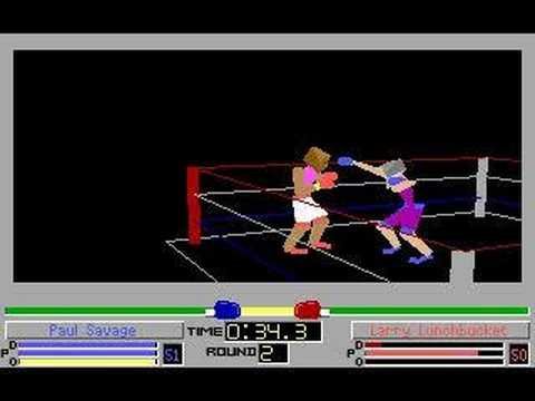 4D Sports Boxing (DOS) - Paul Savage has some fun