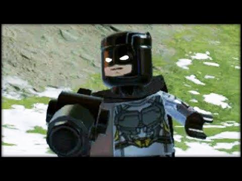 LEGO Marvel Superheroes 2 Creating Batman &  Bruce Wayne! Customs!