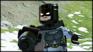 LEGO Marvel Superheroes 2 Creating Batman &  Bruce Wayne! Customs!