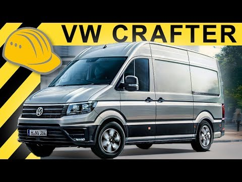 VW Crafter 2017 - Erste Testfahrt & Review - Kastenwagen & Pritsche Fahrberich & Test - Bauforum24