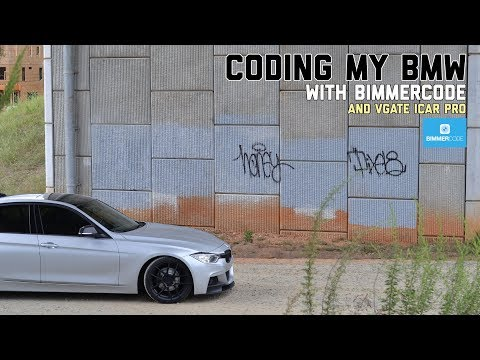 HOW TO CODE YOUR F30 BMW WITH BIMMERCODE - YouTube