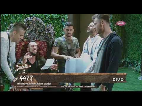 Zadruga - Sloba, Đekson, Bora, Filip i Vojke pevaju pesmu o Zadruzi - 28.05.2018.