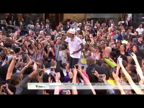 Chris Brown - Don't Wake Me Up on Today Show performance 6/8/2012