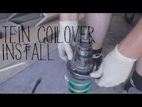 Tein Coilovers On The Civic
