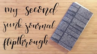 Flip Through | My Second Junk Journal