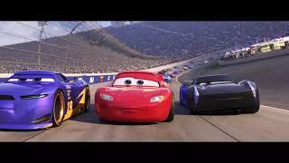 Arabalar 3/ Mcqueen Kaza yapar ( Jackson Storm) kazanır.