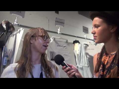 Leanne Marshall Interview and Runway at NYFW