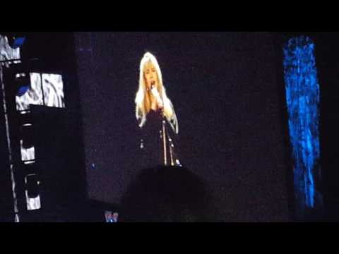 "Stevie Nicks ""Leather and Lace"" LIVE from Nashville November 7th"