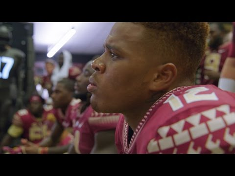 Seminoles Locker Room after Tough Clemson Loss | A SEASON WITH FLORIDA STATE FOOTBALL
