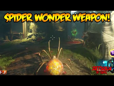 "BLACK OPS 3 ZOMBIES ""ZETSUBOU NO SHIMA"" SPIDER BAIT WONDER WEAPON GAMEPLAY! (BO3 Zombies)"