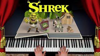 "SHREK ""Fairytale"" (PIANO TALES #1) [Piano Cover, Movie Soundtrack]"